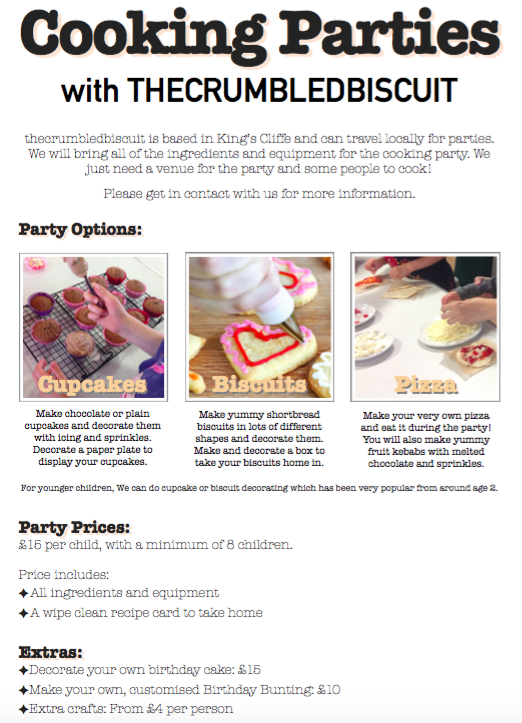 Cooking Parties image